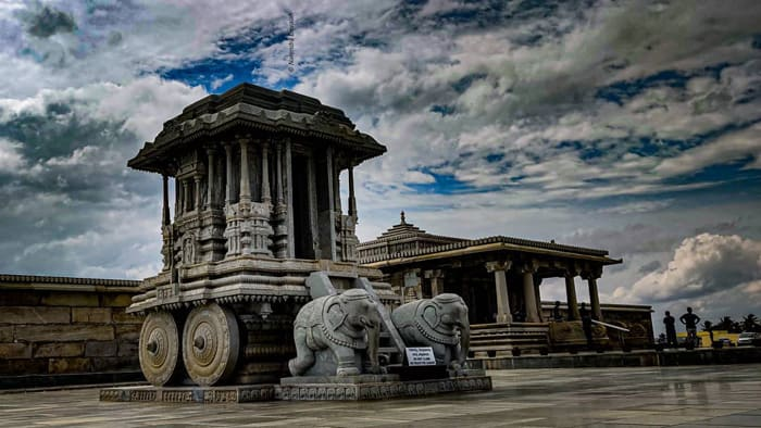 Replica of Hampi Stone chariot