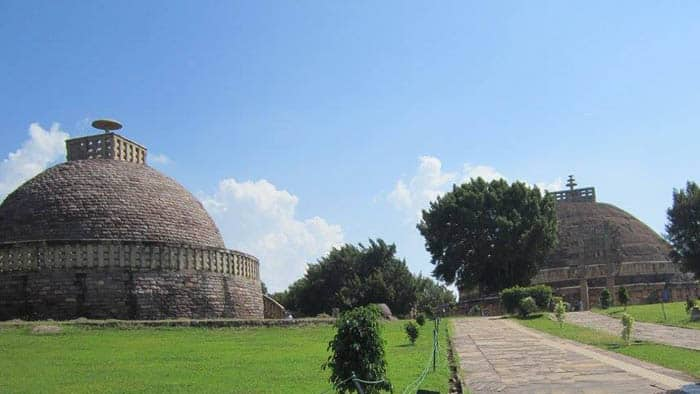 Sanchi Stupa from outside