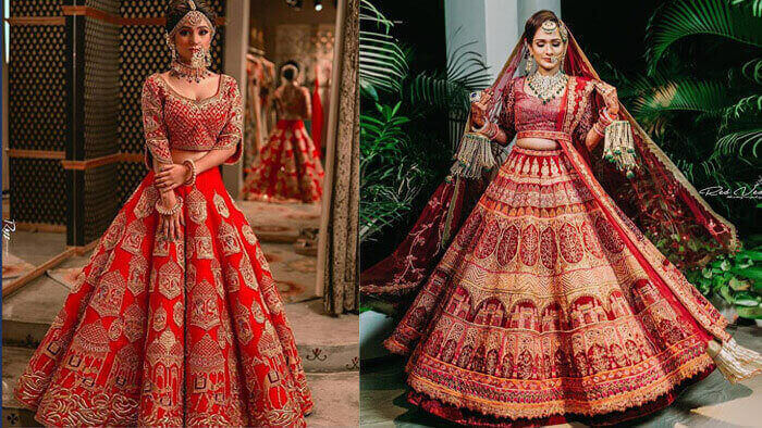 10 Latest Bridal Lehenga You Could Wear For Your Wedding