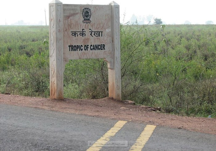 Tropic of Cancer in Bhopal Sanchi