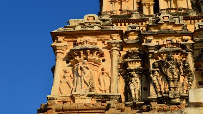 Virupaksha Temple closer