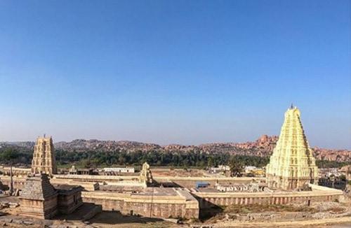 Virupaksha Temple far view
