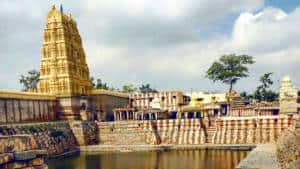 Virupaksha Temple view