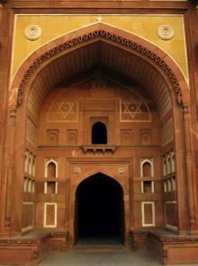 Agra Fort doorway