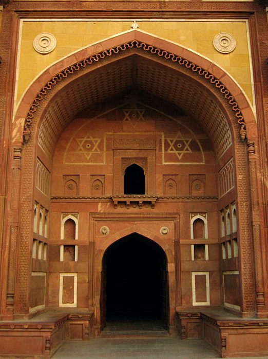 Agra Fort doorway