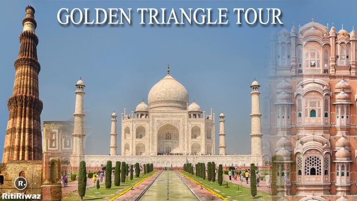 Golden Triangle Tour ( Delhi – Agra – Jaipur – Delhi )