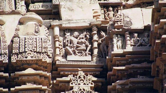 Khajuraho Temples Sculpture