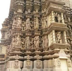 Khajuraho Temples near view