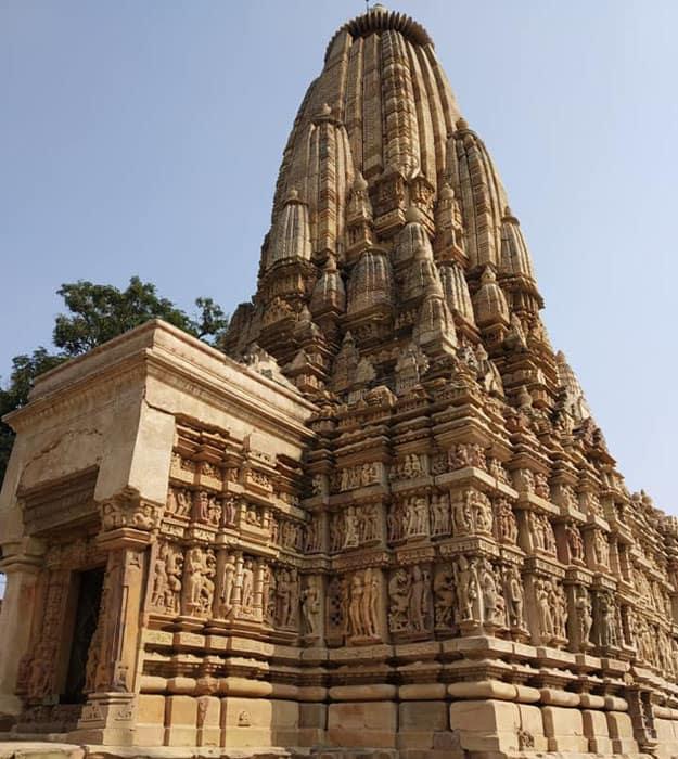 Khajuraho Temples outer view