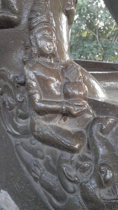 Khajuraho Temples statue