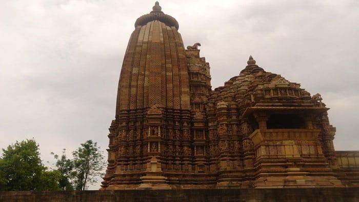 Khajuraho Temples view