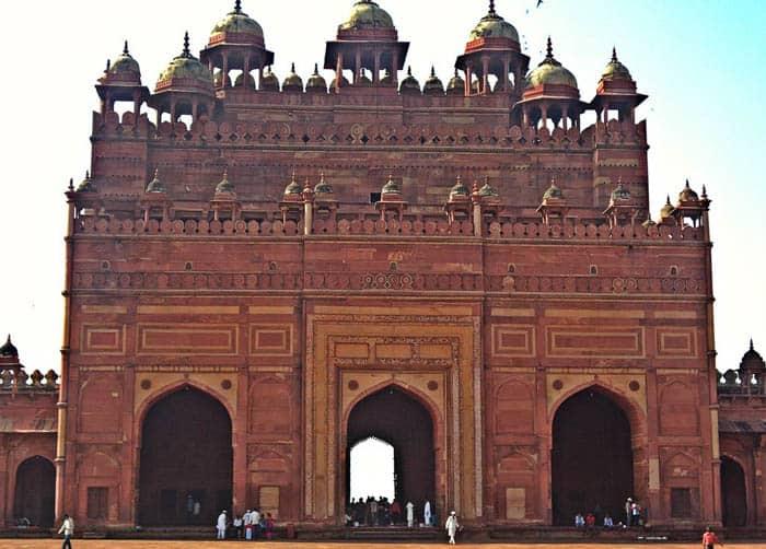 Buland Darwaza from inside