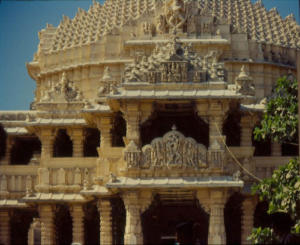 Closer view somnath temple