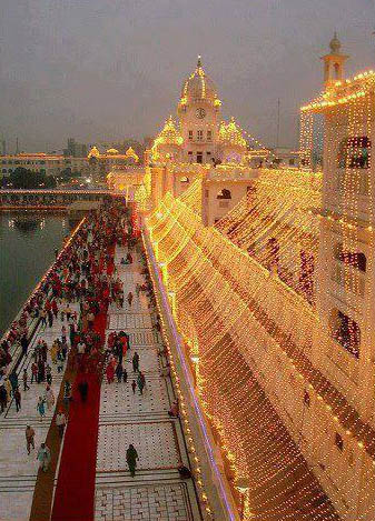 Decorated Golden Temple