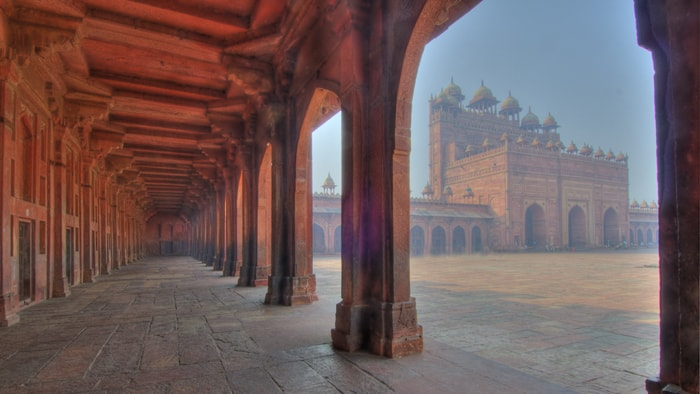 Fatehpur Sikri inside view