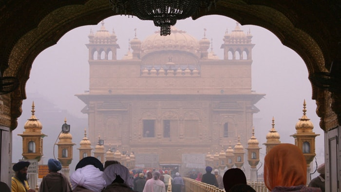 Golden Temple in early morning
