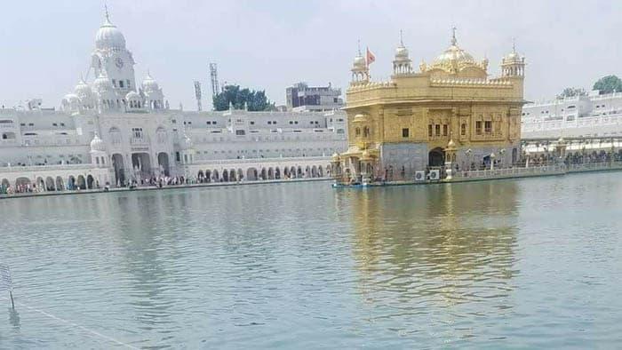 Golden temple view