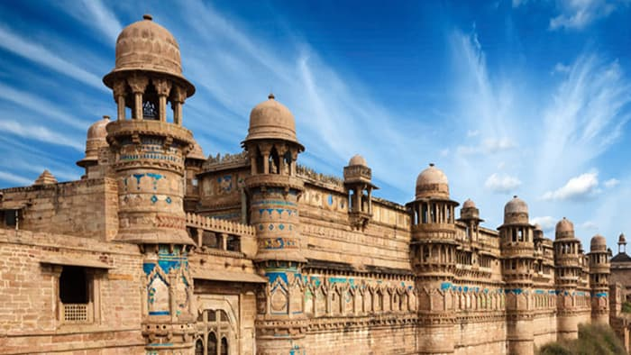 Gwalior fort beauty