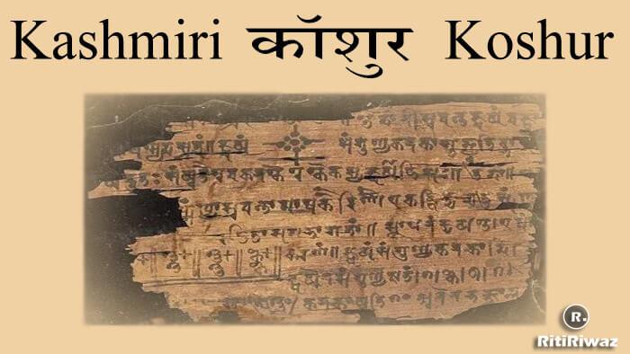 Kashmiri Language | Koshur