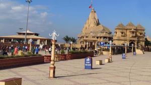 Somnath temple compound