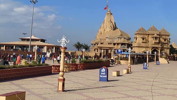 Somnath temple compound