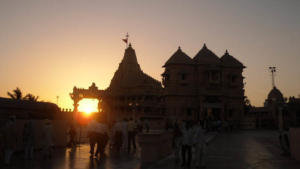 Sunset at Somnath temple