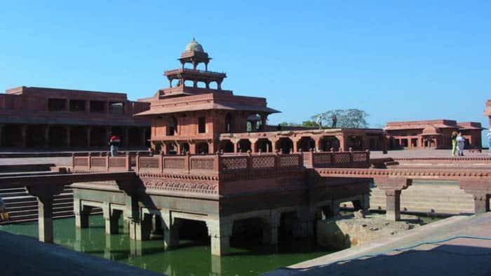 fatehpur-sikri inside