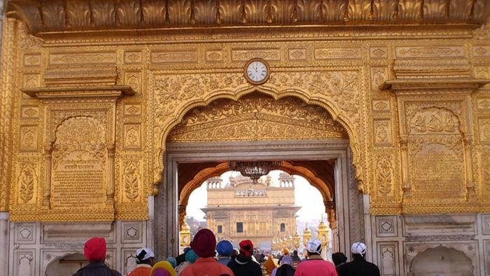 golden temple entrance door