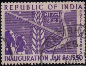 Inauguration stamp