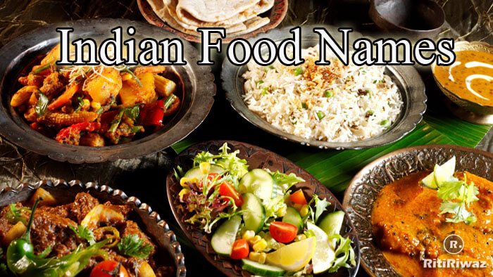Indian Food Names