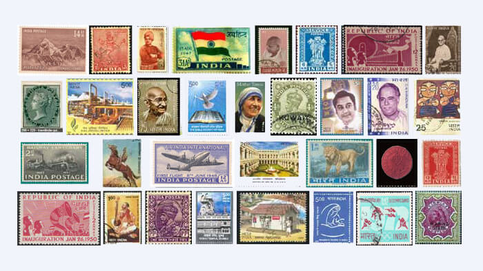 Rare Historical Stamps of India