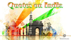 Quotes On India