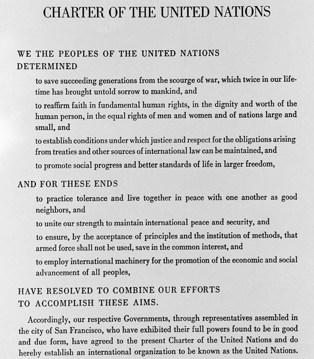 UN-Preamble