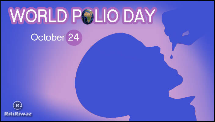 World Polio Day – 24 October