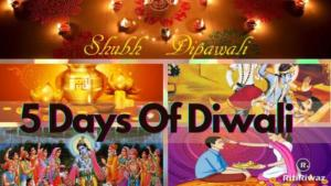 5 Days of Diwali