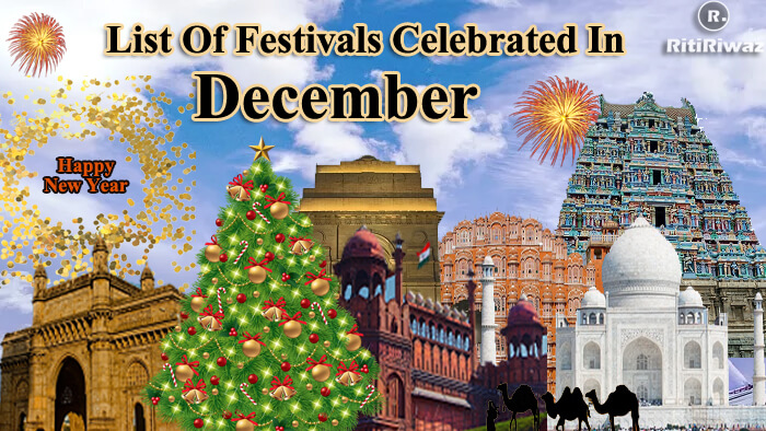 December Festivals celebrated in India