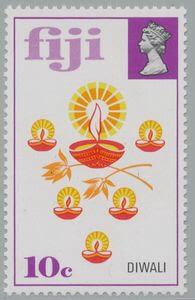 Diwali Fiji stamp