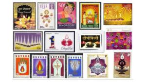 Diwali World stamps