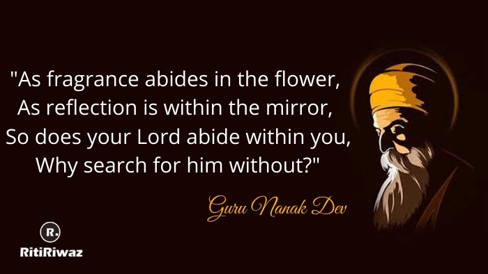 Popular Gurunanak Dev Quotes