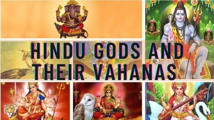 Hindu Gods and their Vahanas (Vehicles)