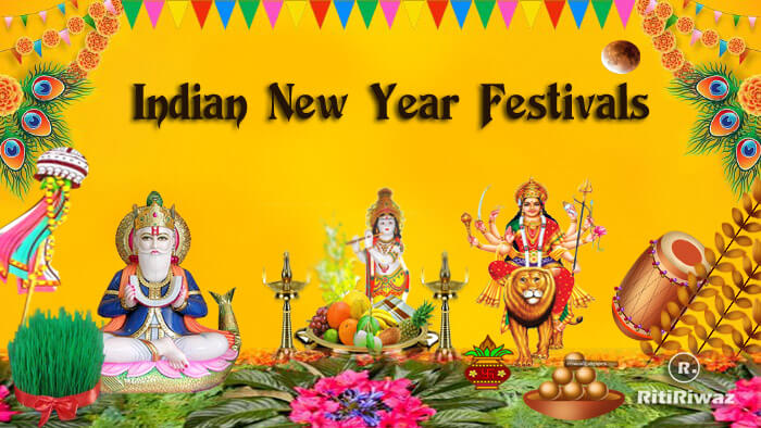 15 Regional New Year Festival in India