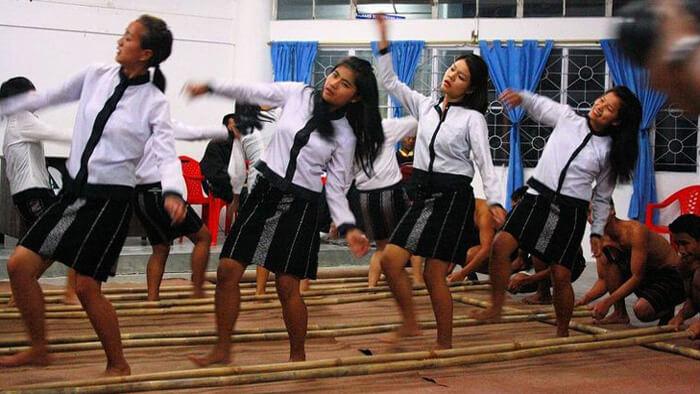 Mizoram Cheraw Bamboo Dance