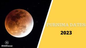 Purnima Dates