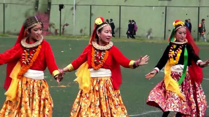 Sikkim Folk dance