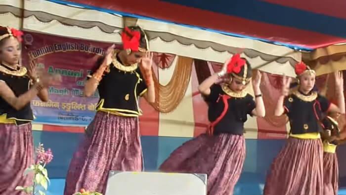 Uttarakhand Jhora dance
