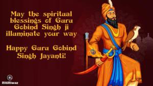 Gobind singh Jayanti Wishes
