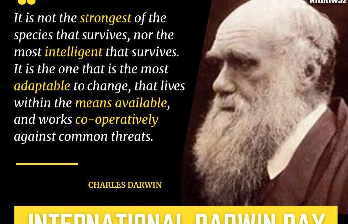 International Darwin Day – 12th February