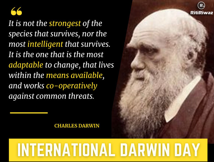 International Darwin Day – 12th February