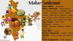 Makar Sankranti names