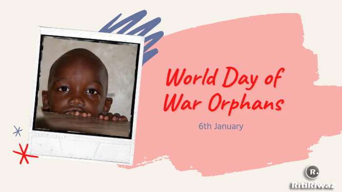 World Day of War Orphans – January 6